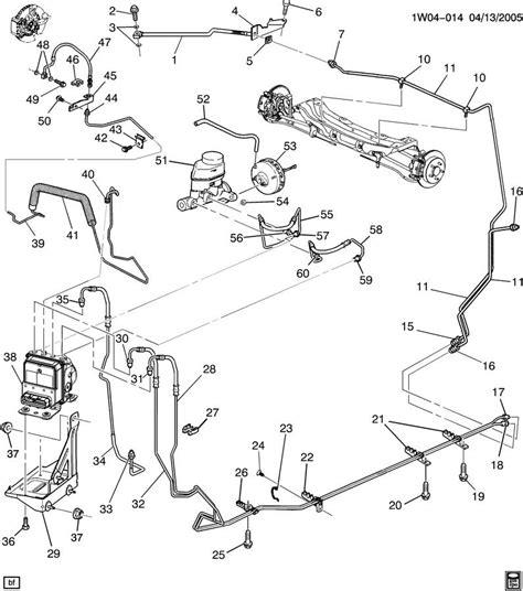 brake line diagram brake plumbing diagram 2002 chevy impala plumbing and