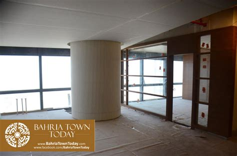 interior work in progress at bahria town icon karachi
