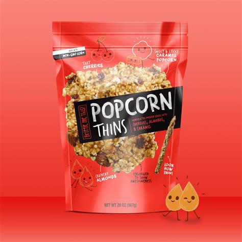 popcorn thins branding packaging pivot marketing