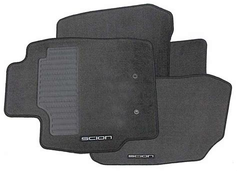 Scion Tc Car Mats by New 2005 2010 Scion Tc Carpeted Floor Mats From
