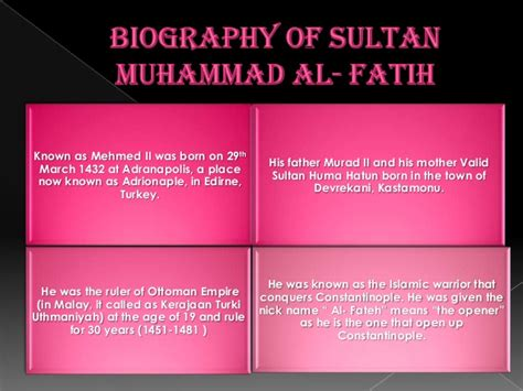biography sultan muhammad al fatih pictures three approaches to leadership