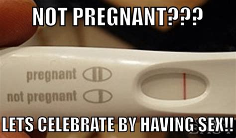Not Pregnant Meme - relationship fact