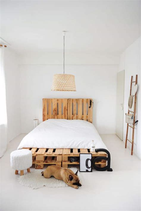 bed with pallets top 62 recycled pallet bed frames diy pallet collection