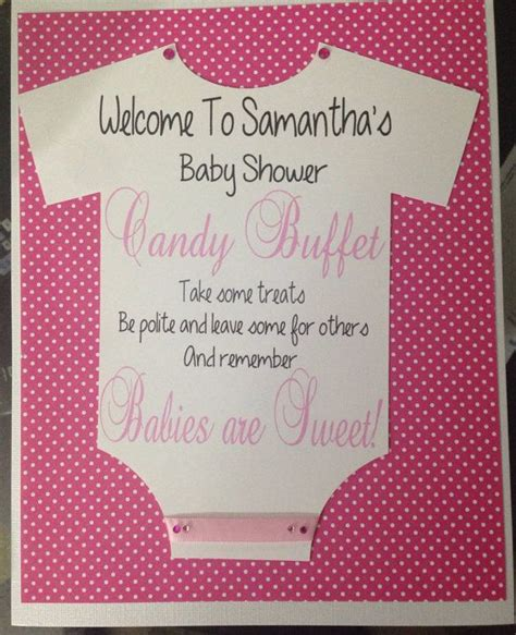 Baby Shower Buffet Sign by 50 Best Images About Buffet Banners And Signs On