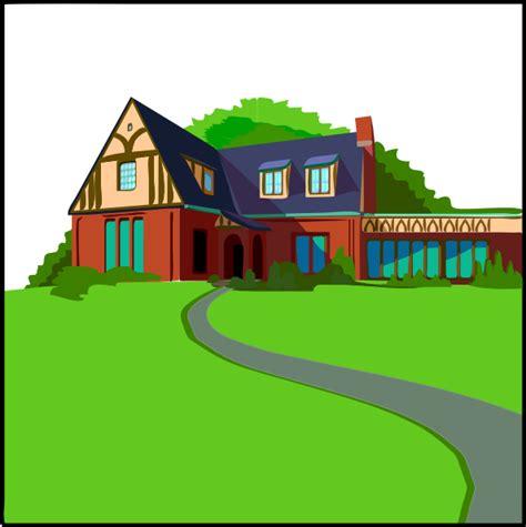 clipart casa casa in cagna clip at clker vector clip