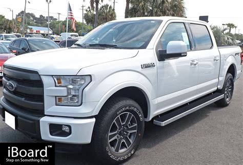 Ford Fit by Iboard Running Boards 6 Quot Fit 15 17 Ford F150 Supercrew Cab