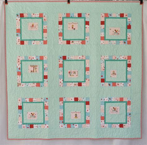 Patchwork Quilt Story - quilt story patchwork frames quilt from the sewing