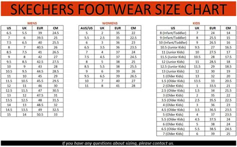 how do shoe sizes work skechers size chart shoes shoes sox measure and fit