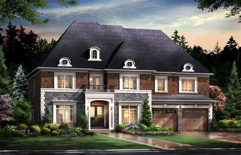 estate homes new homes in kleinburg by skyhomes development corp