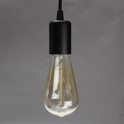 Pendant Light Bulb Socket E27 Single Home Ceiling Pendant L Light Bulb Holder Socket Hanging Fixture 1 2m Alex Nld