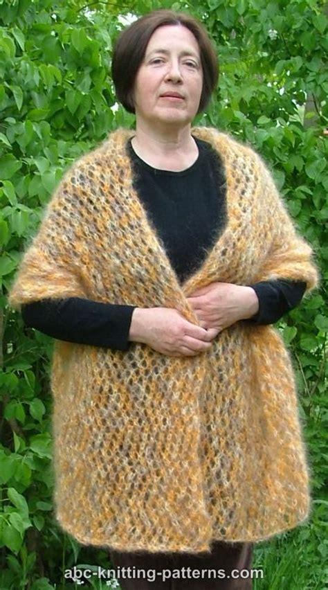 free pattern knit mohair scarf free mohair knitting patterns free patterns