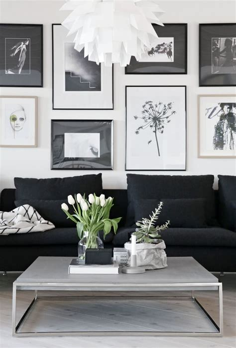 decor behind couch 25 best ideas about black couch decor on pinterest
