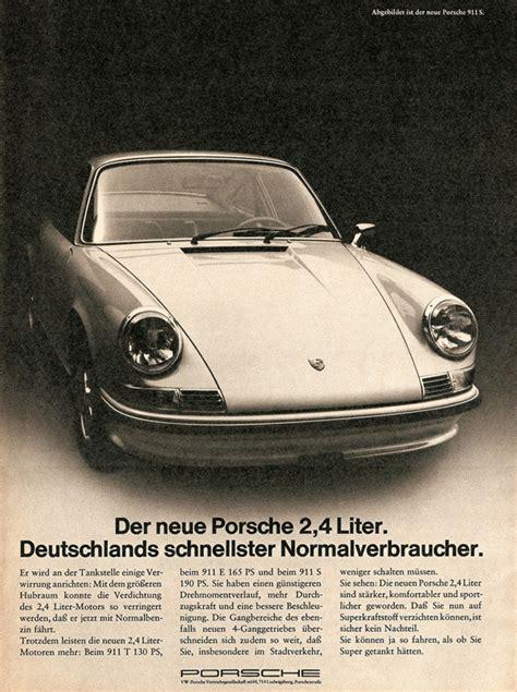 vintage porsche ad inspiration 60 vintage automobile ads