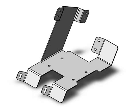 solidworks tutorial how to create a bracket in sheet metal solidworks part reviewer mounting bracket tutorial