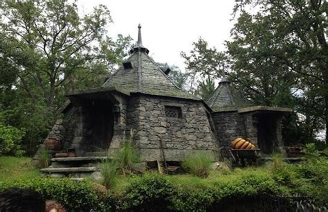 hagrid house j k rowling builds hagrid s hut in scotland artnet news