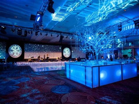 by design event decorations inc bar table design ideas corporate holiday party theme