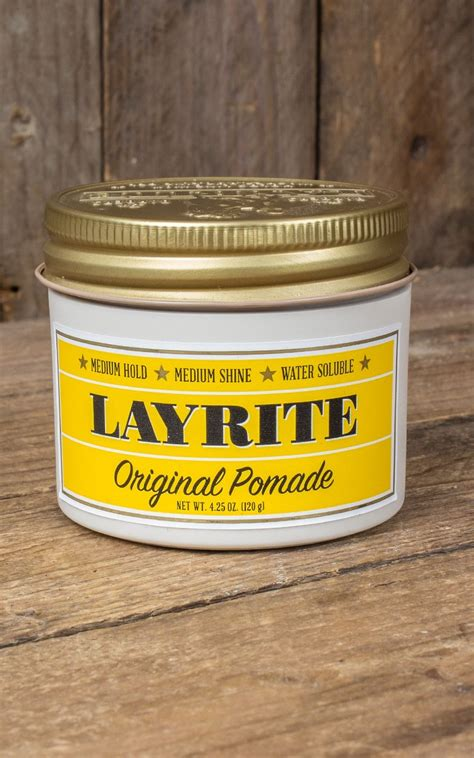 Pomade Vespa layrite quot deluxe pomade quot original