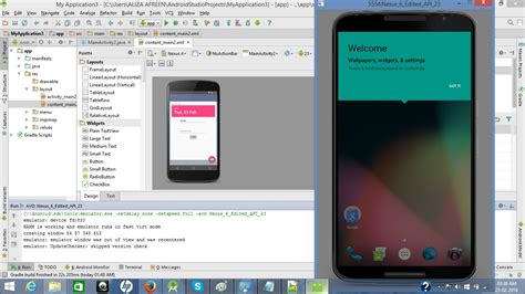 android studio emulator do not show the designed layout android studio emulator not working correctly stack overflow
