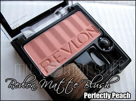 Blush On Revlon Matte review revlon matte blush perfectly 003