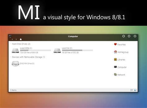Elegant Theme For Windows 8 1 | elegant mi theme for windows 8 1 windows10 themes i