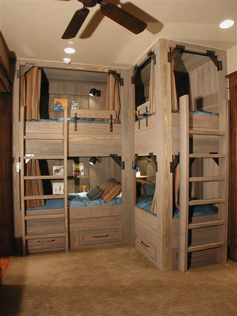 Bunk Bed Lighting Ideas Staggering Diy Bunk Beds Decorating Ideas