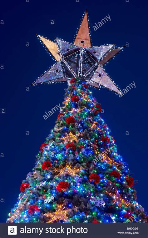 worlds largest solar powered christmas tree brisbane