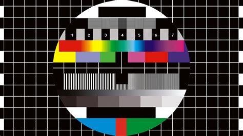test pattern bash digital art monoscope numbers tv squares circle grid