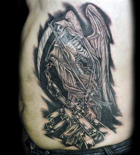 reaper tattoos for men 70 grim reaper tattoos for merchant of designs