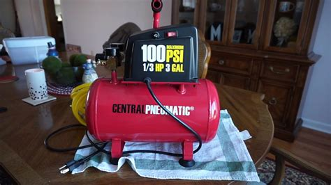 the harbor freight central pneumatic 49 99 air compressor is it worth it