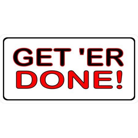 Get Done 1 get er done photo license plate walmart