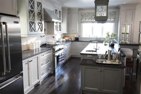 gray kitchen transitional kitchen  paints