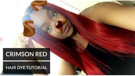 crimson hair color crimson hair color by adore www pixshark images