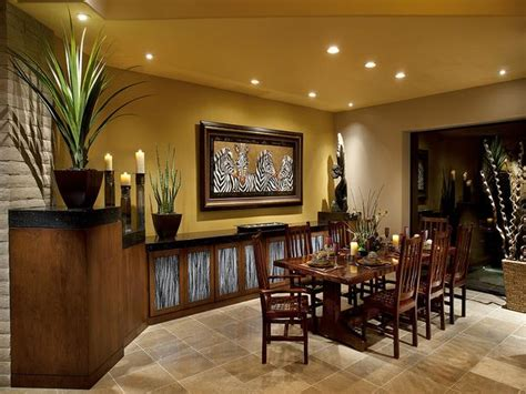 modern furniture tropical dining room decorating ideas