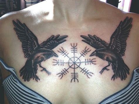 norse raven tattoo huggin and muninn tattoos i want