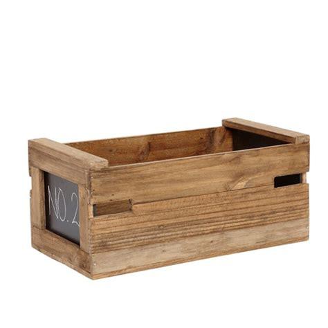 tafel zum beschriften ablagebox mit tafel zum beschriften holz natur 0001587