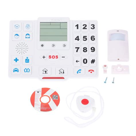 best kkmoon 174 wireless gsm sms home security alarm system