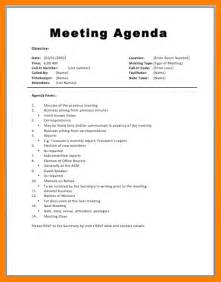 Staff Meeting Template by Doc 580660 Staff Meeting Agenda Template Sle Staff