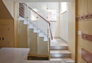 Townhouse Stairs Design End Townhouse Stair Modern Staircase Boston By Lda Architecture Interiors