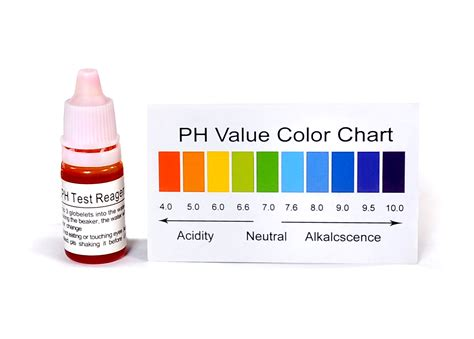 test ph ph tester for water chlorine measurment a drop