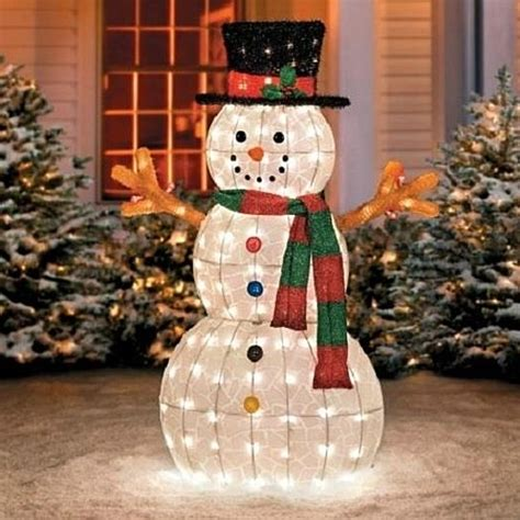 buy sale 48 quot outdoor lighted pre lit snowman sculpture