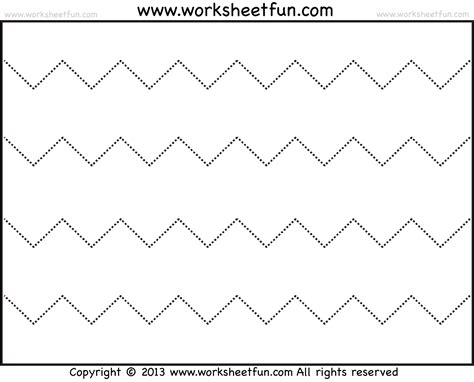 coloring pages for zigzag free coloring pages of zig zag line tracing