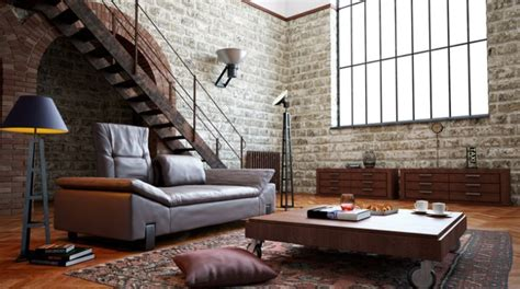 Wohnzimmer New York Style by D Tendance Le Style Industriel
