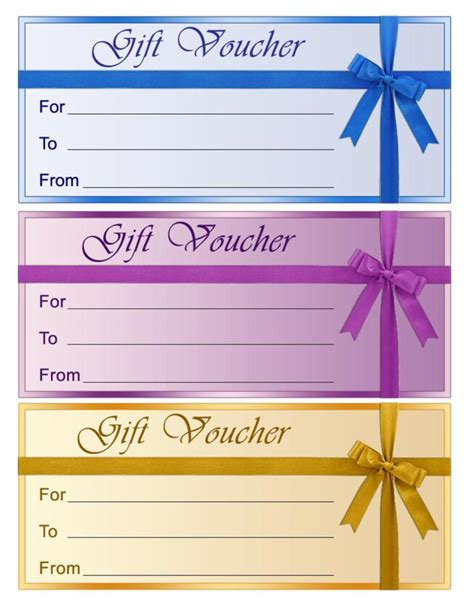 templates for vouchers design blank voucher template download free premium templates