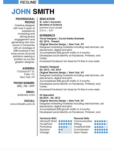 Apple Resume Templates For Word by Winning Resume Templates For Microsoft Word Apple Pages