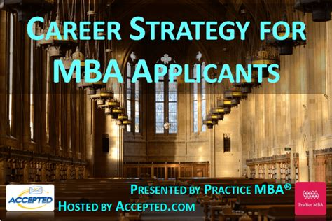 Mba Is A Strategist Degree by Future Mbas Learn What You Can Do To Jumstart Your Career
