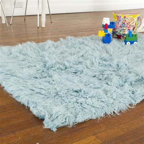 flokati rug care flokati rug 1400g m2 60x120cm blue 3 pashmina pashminas co uk