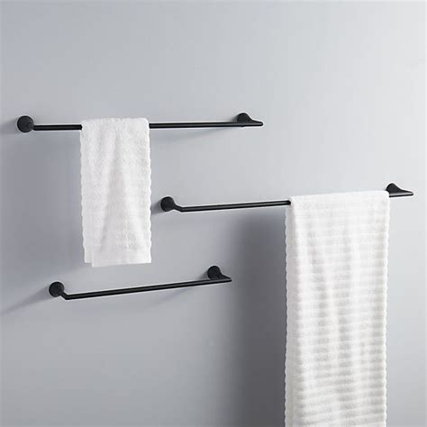 White Towel Bars For Bathrooms by 25 Best Ideas About Bathroom Towel Bars On