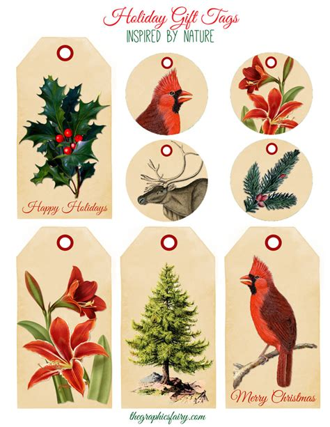 11 free holiday printables the graphics fairy