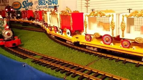 scale kids circus train longest ct pulled