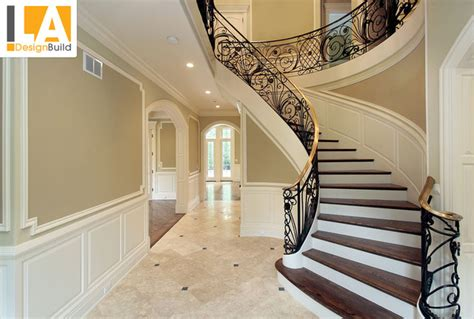 Just Two Fabulous Staircases by Living Room Mediterranean Staircase Los Angeles By